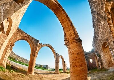 Nikozija, Cipar - Ruins of Agios Sozomenos
