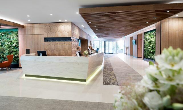 Bled, Hotel Rikli Balance, recepcija