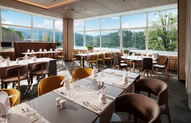 Bled, Hotel Rikli Balance, restoran