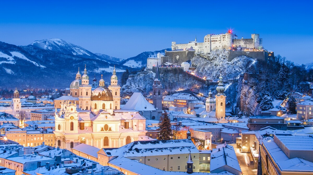 Salzburg - zima