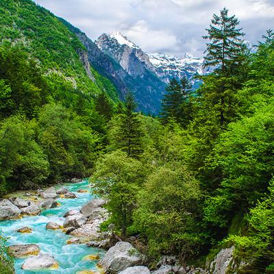 Slovenija, Soča