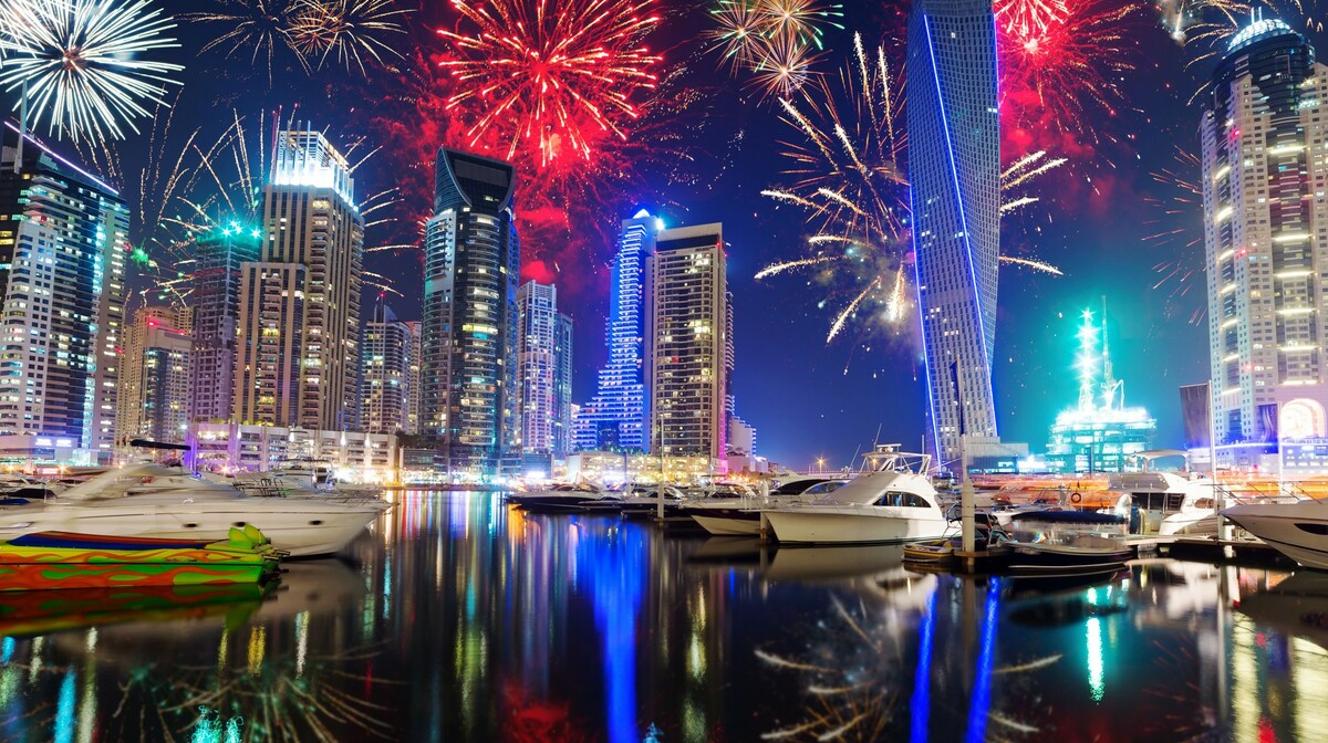 Dubai - vatromet