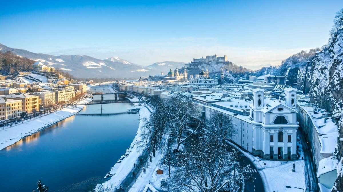 Snježni Salzburg
