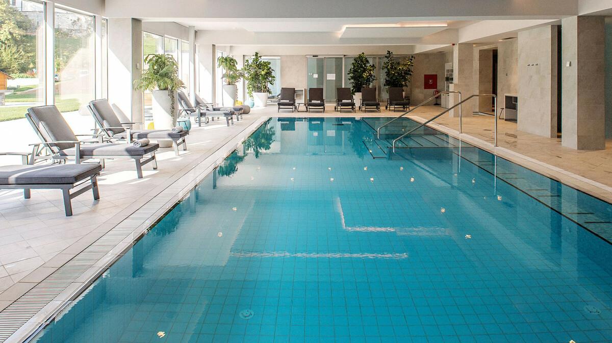 Skijanje i wellness u Sloveniji, Bled, Hotel Rose, bazen