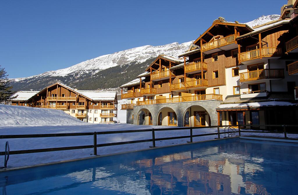 Skijanje u Francuskoj, Val Cenis, Lanslebourg Residence Les Alpages, bazen.