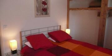Skijanje u Francuskoj, Val Thorens, Residence Le Hameau des Eaux d' Orelle, spavaća soba