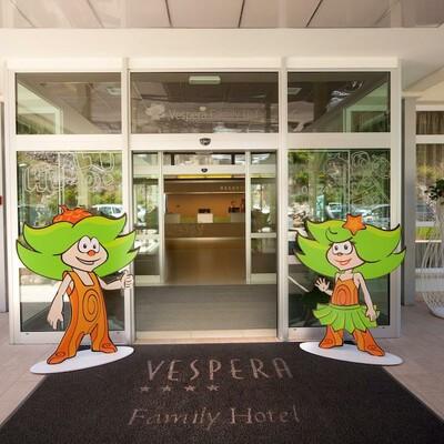 Ulazak u hotel Vespera u Malom Lošinju.