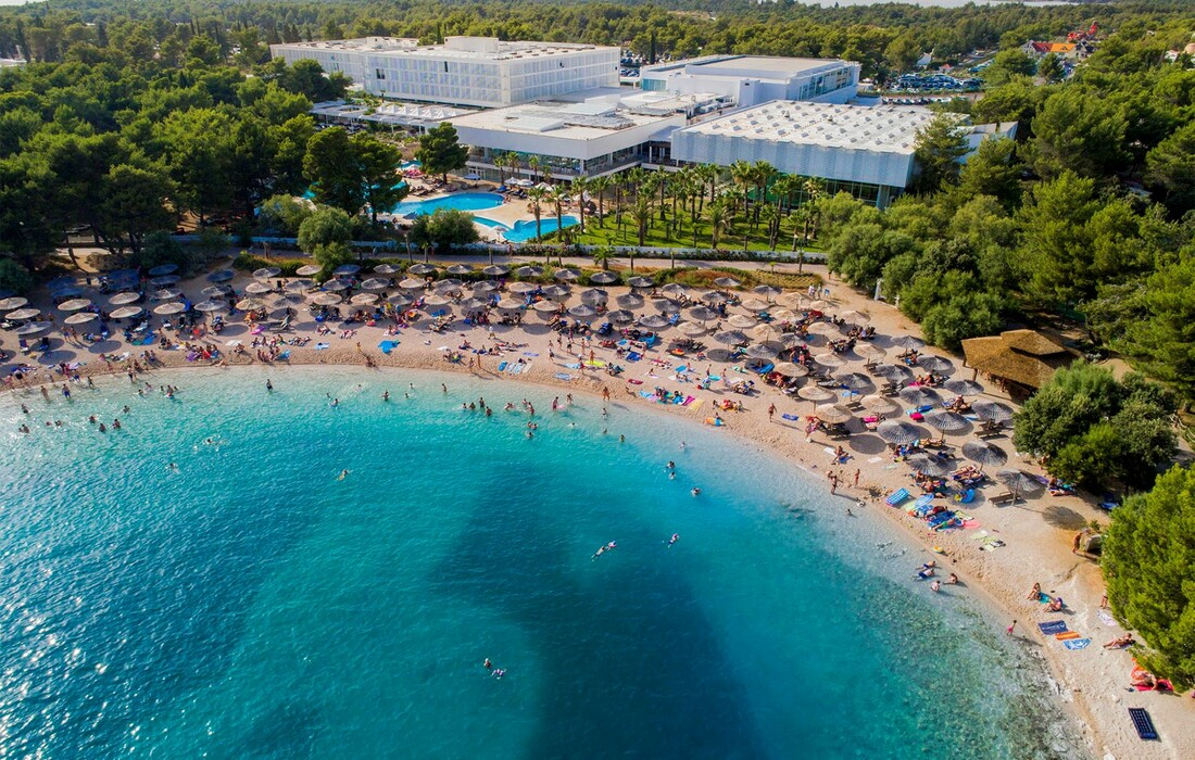 Solaris, Hotel Ivan, plaža