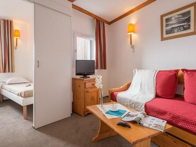 Skijanje u Francuskoj, Alpe d'Huez, Les Horizons D'Huez, spavaća soba