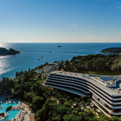 Panorama hotela Lone u Rovinju, Istri, modno travel