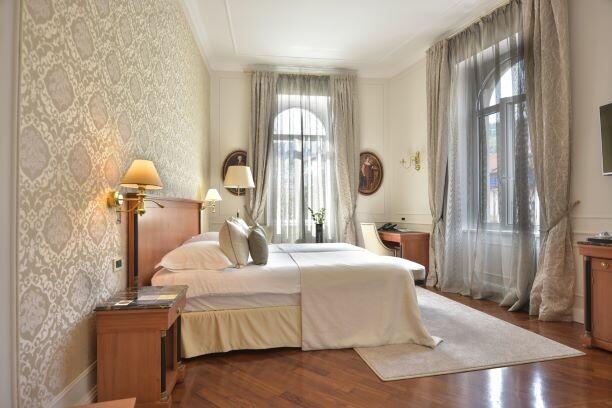 Hrvatska, ljeto, Opatija, hotel Milenij, dvokrevetna soba