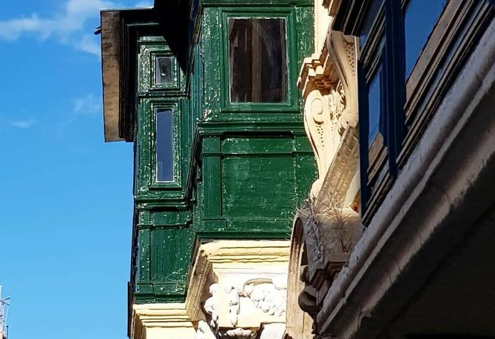 Malta, La Valetta, detalji zgrada, ljetovanje na mediteranu, direktni letovi, garantirani polasci