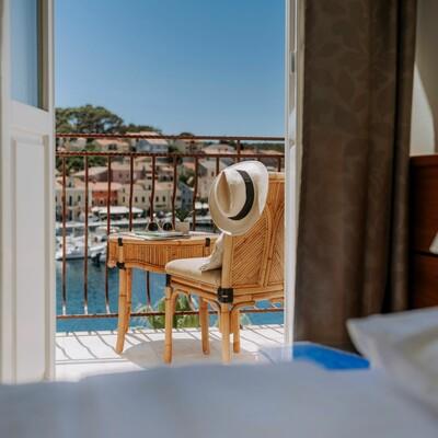 Mali Lošinj, Hotel Apoksiomen, superior soba, balkon