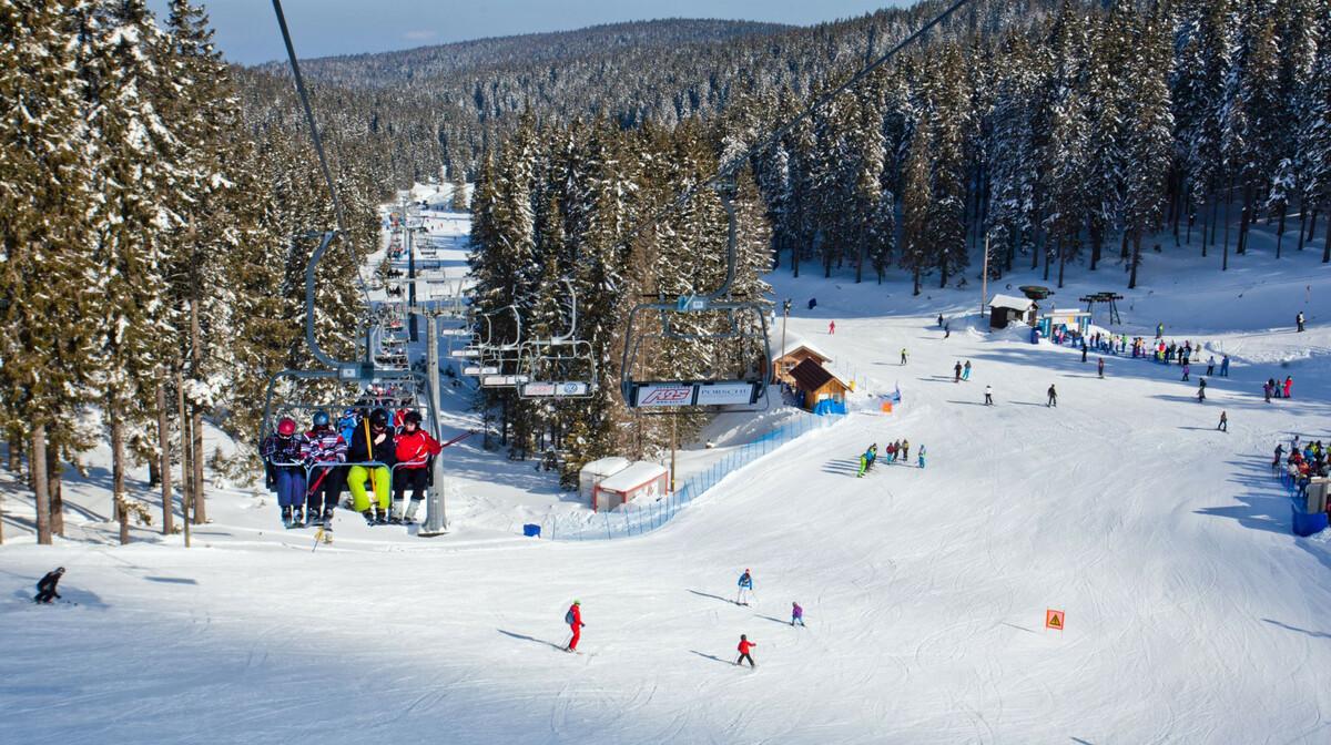 skijalište rogla, slovenija