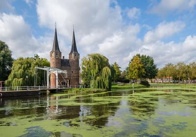 Nizozemska - Delft, Historical Eastern Gate