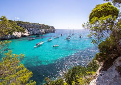 Baleari -  Menorca, plaža Macarella
