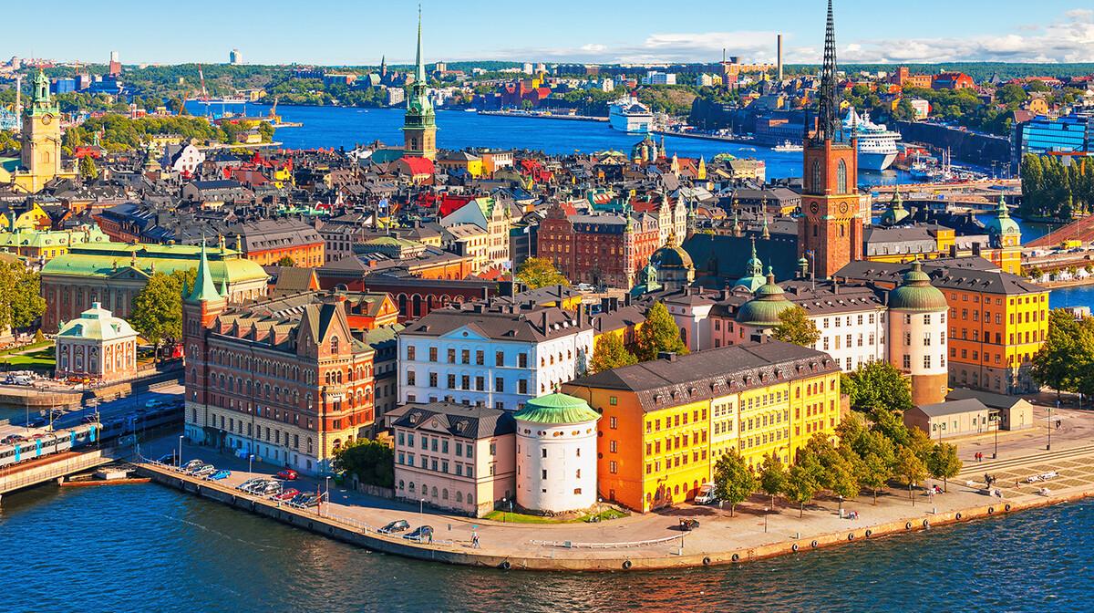Stari dio Stockholma, putovanje u Stockholm, europska putovanja zrakoplovom, garantirani polasci