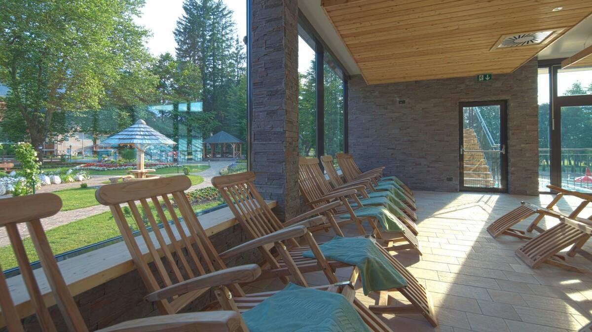 Wellness u Sloveniji, Bohinj Eco, Vodni park sa ležaljkama za odmaranje