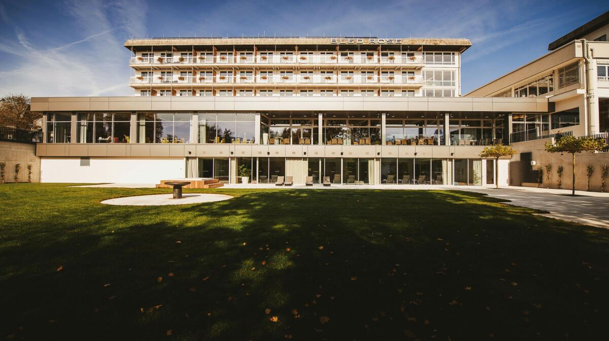 Skijanje i wellness u Sloveniji, Bled, Hotel Rose, izvana