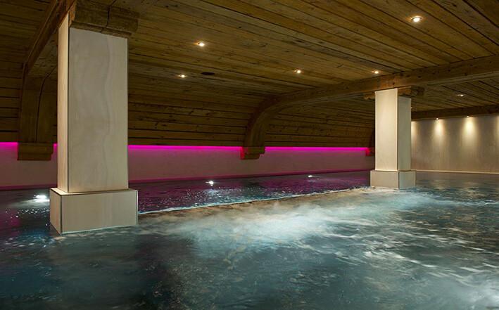 hoteli Zermatt, Naco Aparthotel by Arca, spa i wellness, bazen