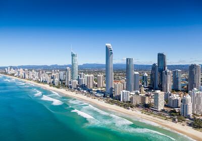 Gold Coast, pješčana plaža, daleka putovanja, putovanje Australija, garantirana putovanja