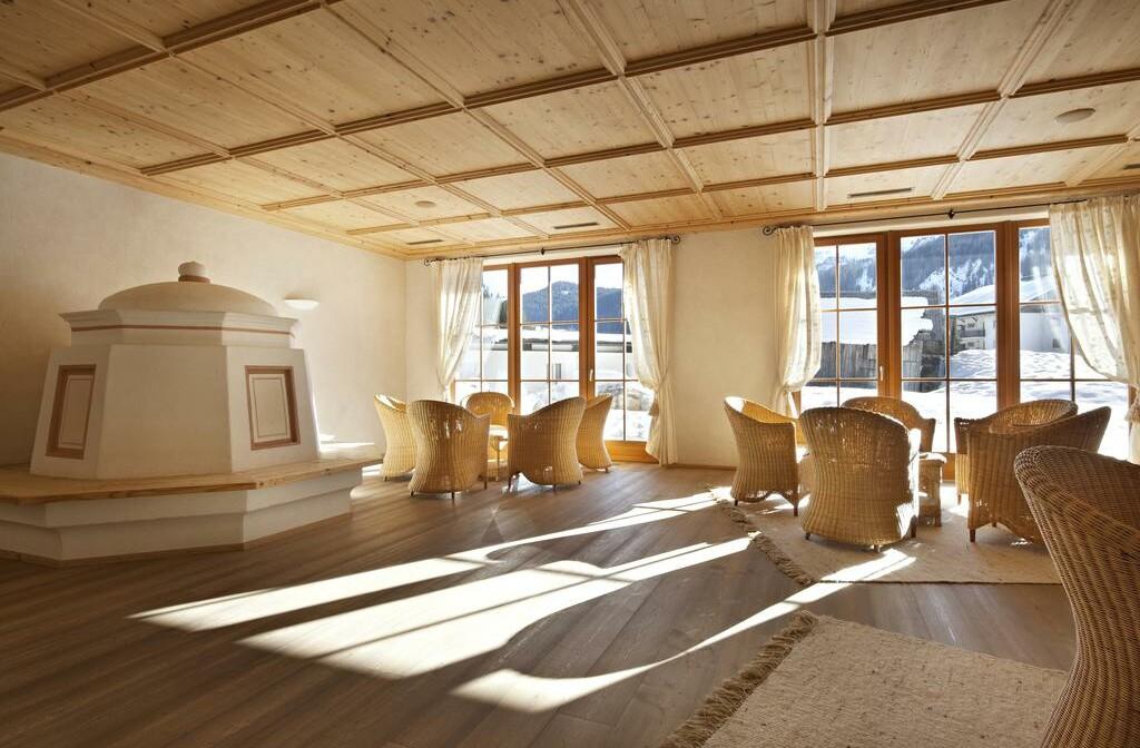 Skijanje u Italiji, Alta Badia, Hotel Greif, lounge
