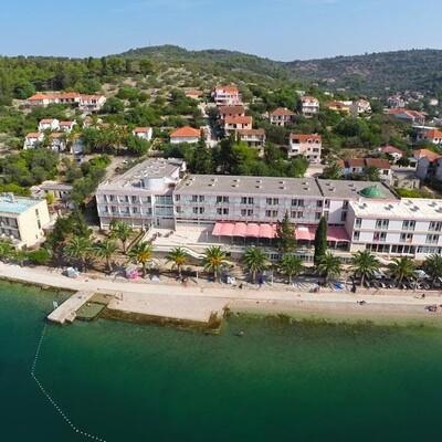 Otok Korčula, Vela Luka, Hotel Posejdon, panorama