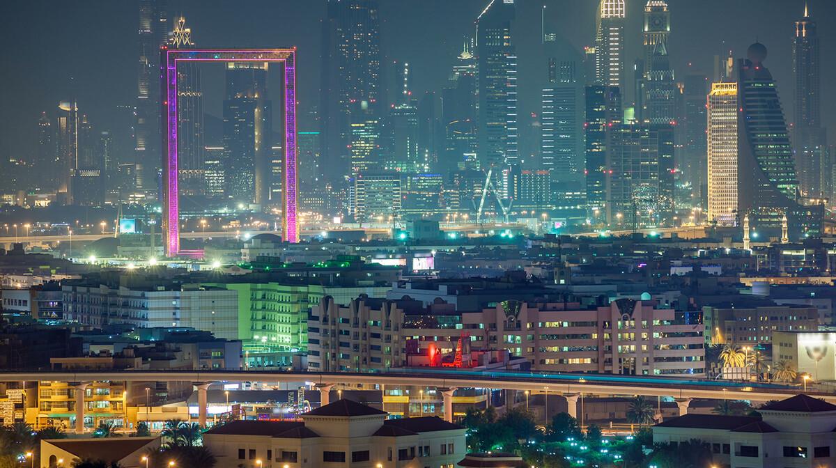 Dubai Frame, putovanje u Dubai, Emirati, grupni polasci, daleka putovanja