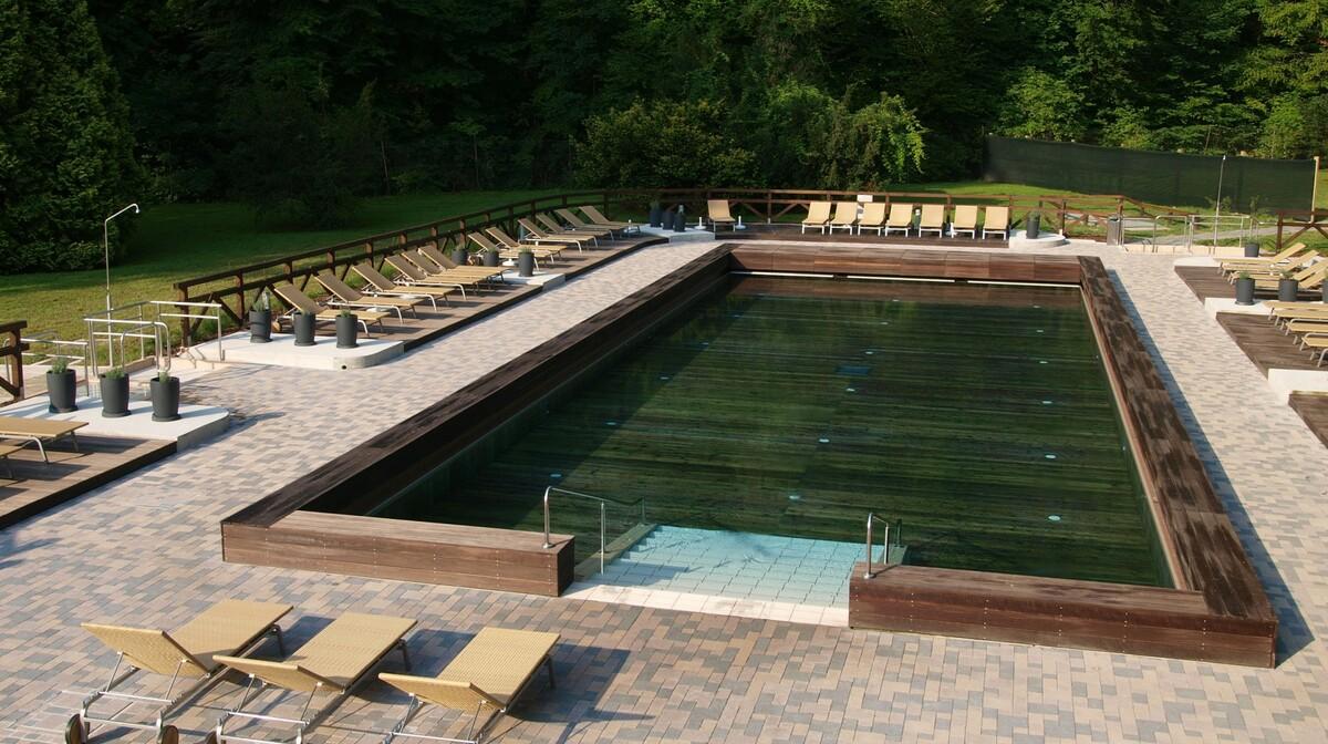 Terme Šmarješke Toplice, drveni bazen