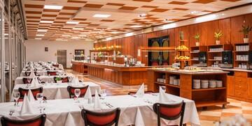 Restoran u hotelu Mediteran, Crikvenica.