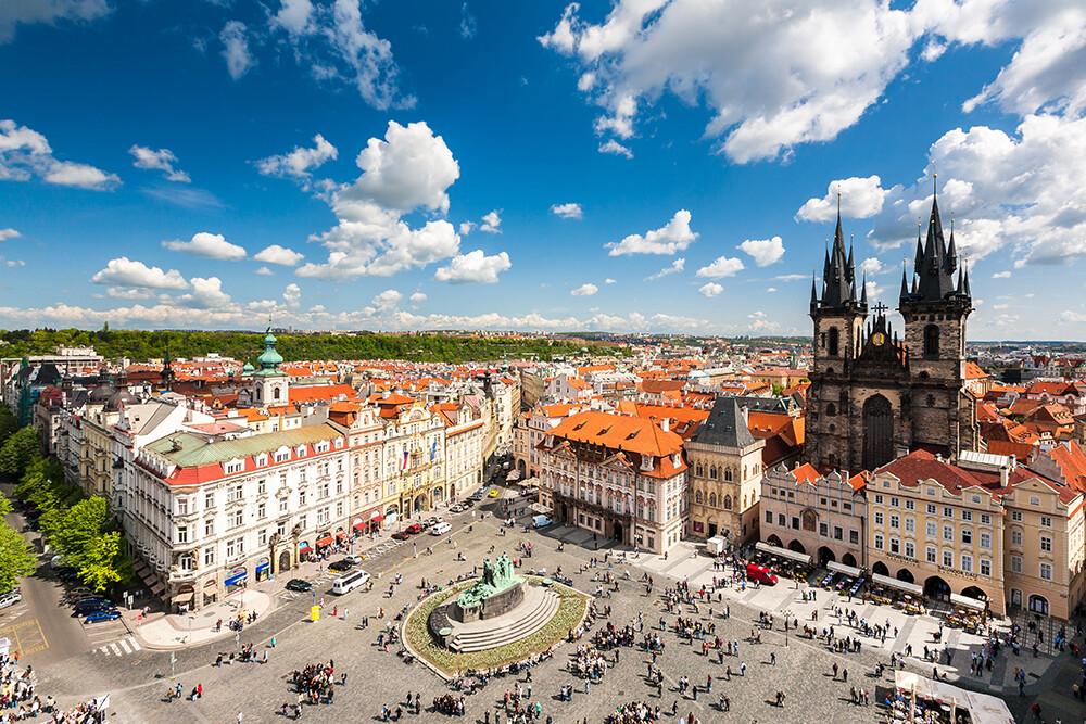 Prag - panorama