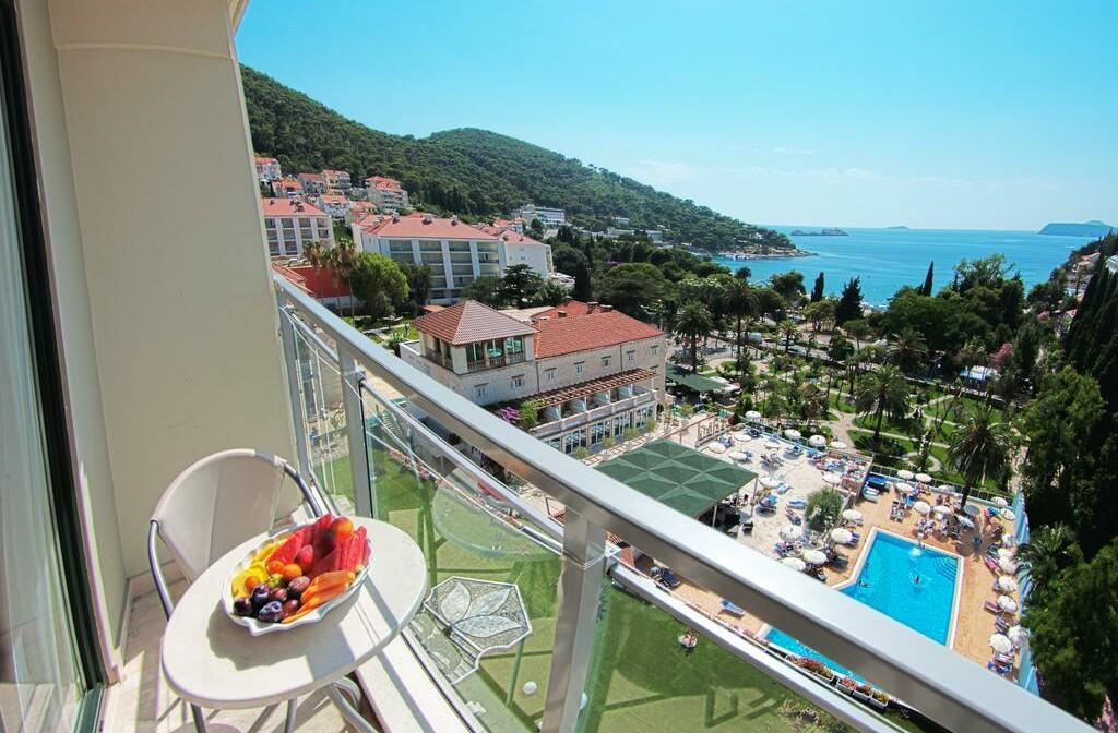 Dubrovnik, Grand Hotel Park, balkon pogled