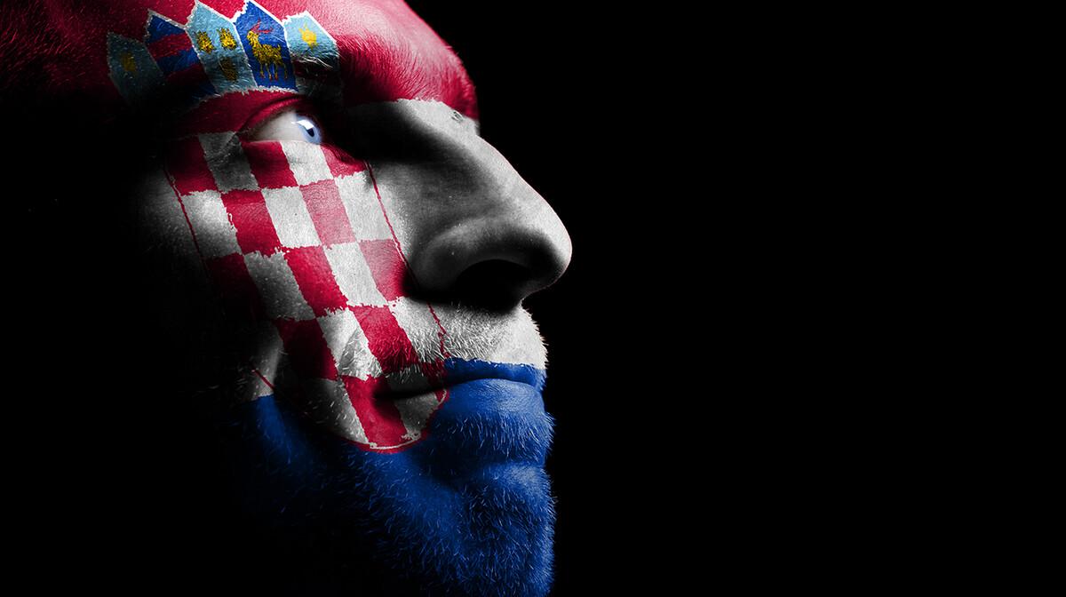 Hrvatski navijač, EURO UEFA 2020 London, Glasgow