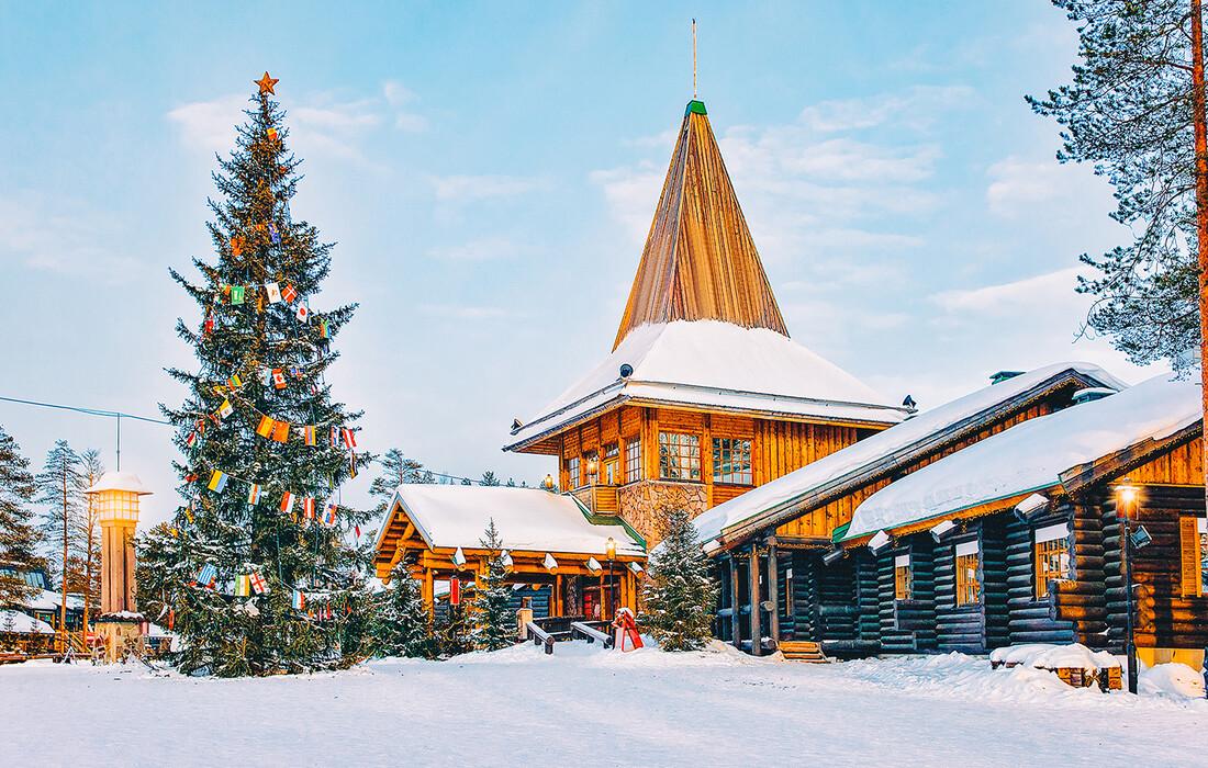Selo djeda Mraza u Rovaniemiju, putovanje Laponija, direktan let za Rovainiemi