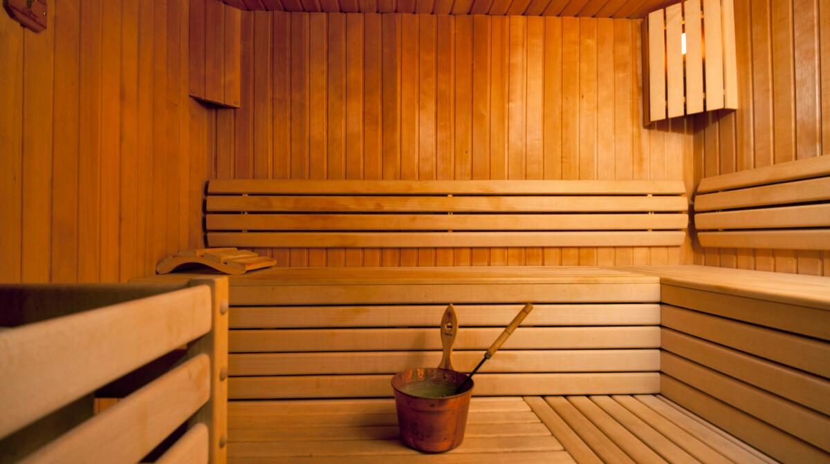 Omiš, Hotel Plaža, sauna