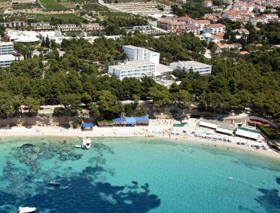 Otok Brač, Bol, Bluesun hotel Borak, panorama