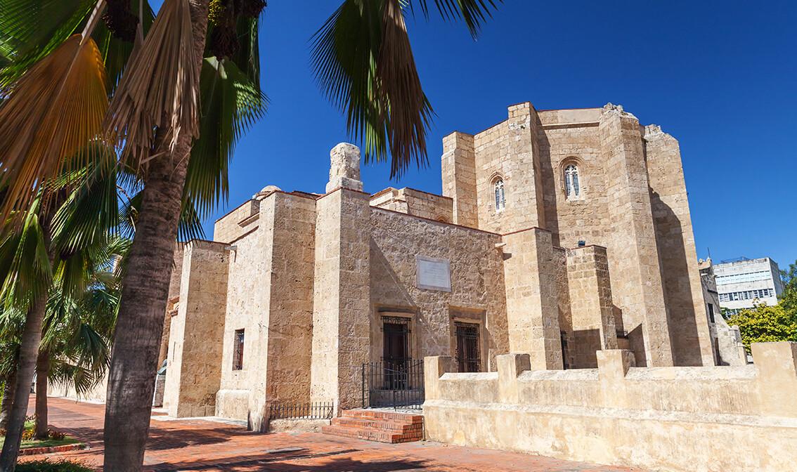 Katedrala u Santo Domingu, odmor Dominikanska republika, karibi, odmor iz snova, daleka putovanja