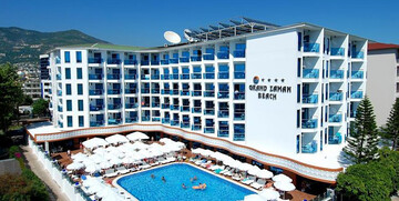 Turska ljetovanje Antalya, Alanya, Hotel Grand Zaman Beach, bazen