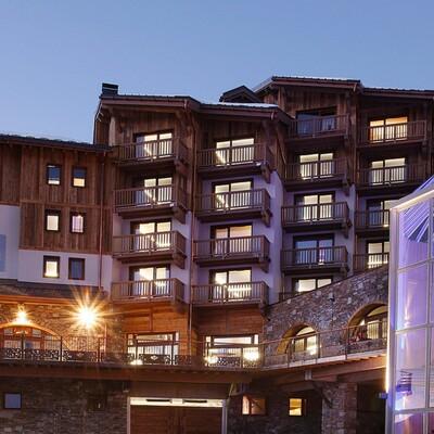 Skijanje Francuska, Val Thorens, Residence Koh i Nor, zgrada, mondotravel, ski in, ski out