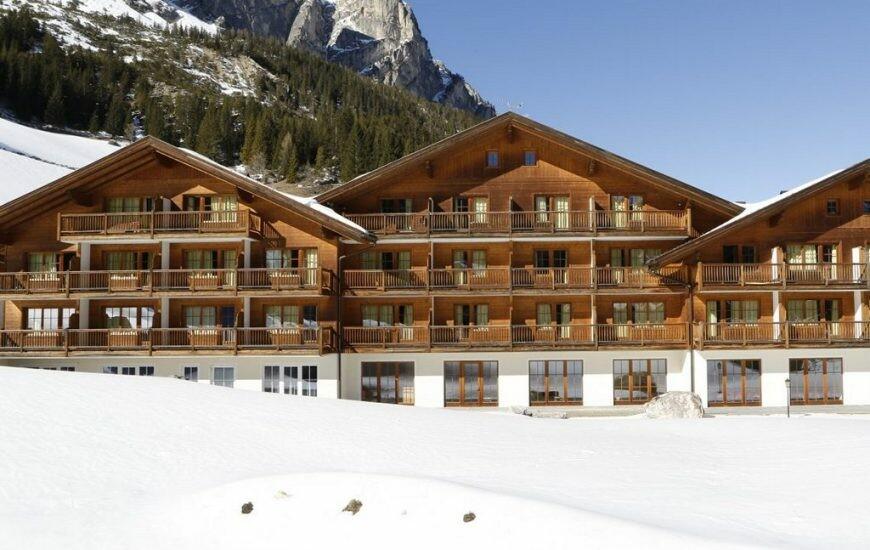 Skijanje u Italiji, Hotel Greif, izvana