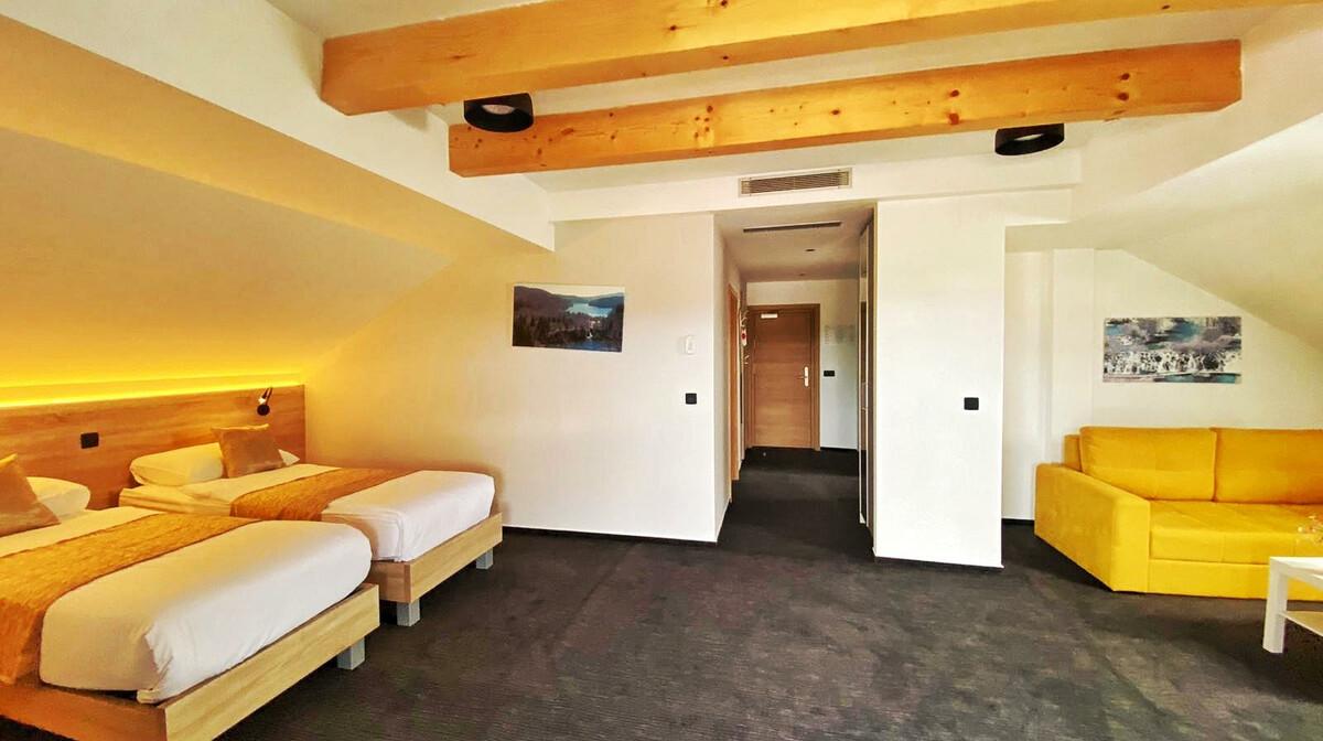 Plitvice, Hotel 16lakes, suite
