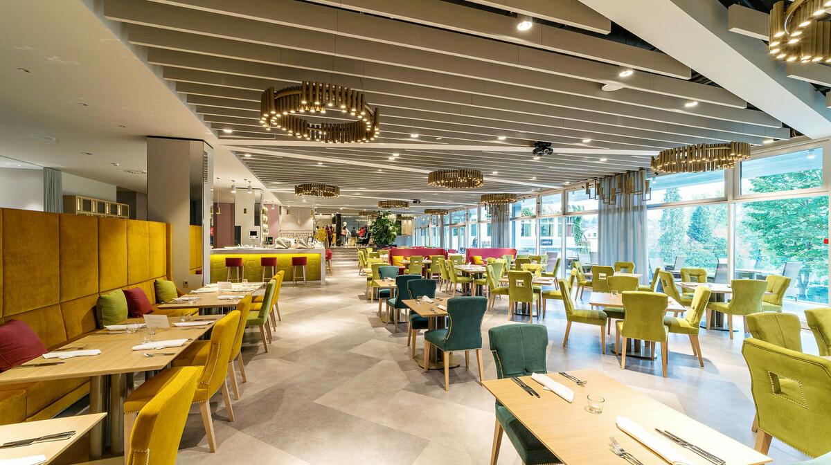 Skijanje i wellness u Sloveniji, Bled, Hotel Rose, restoran