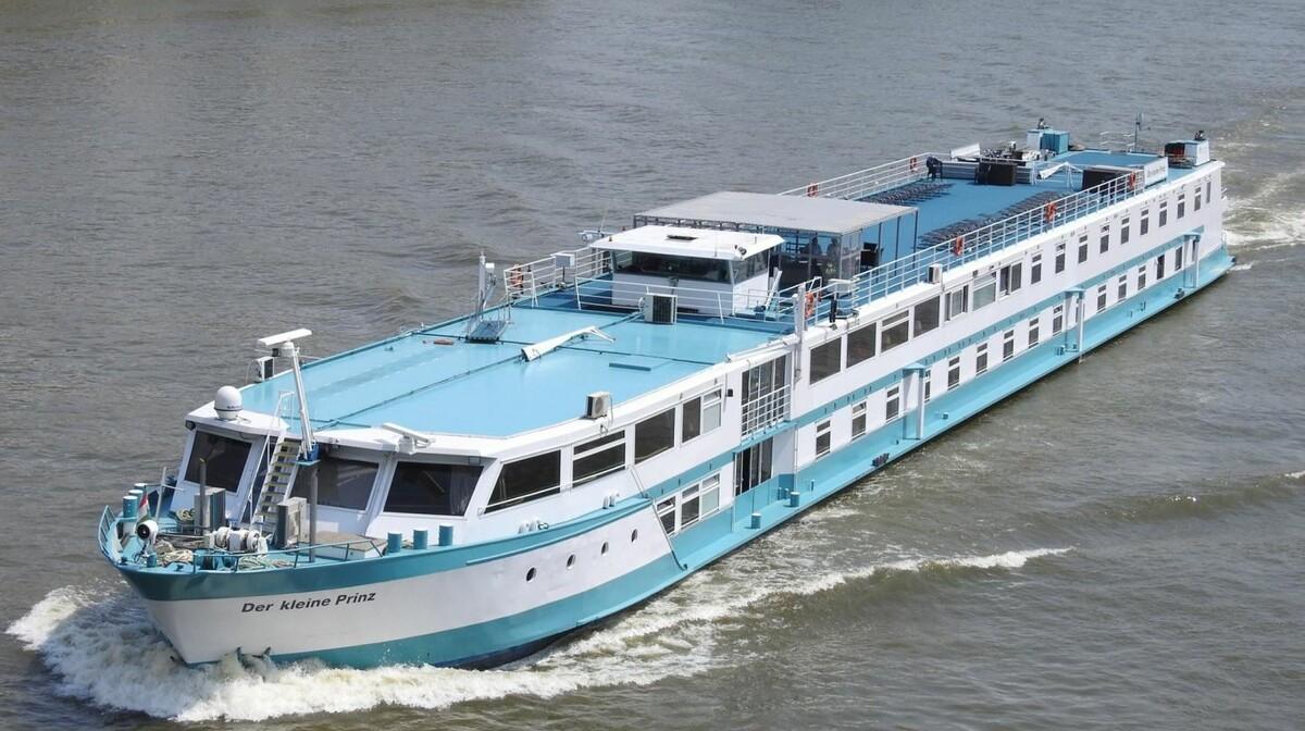 Brod MS Der Kleine Prinz, krstarenje Dunavom Budimpešta