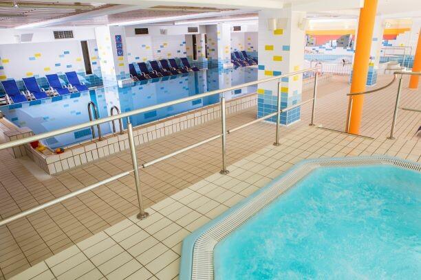 Slovenija, Kranjska Gora, Hotel Kompas, unutarnji bazen i jacuzzi