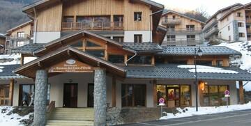 Skijanje u Francuskoj, Val Thorens, Residence Le Hameau des Eaux d' Orelle, izvana