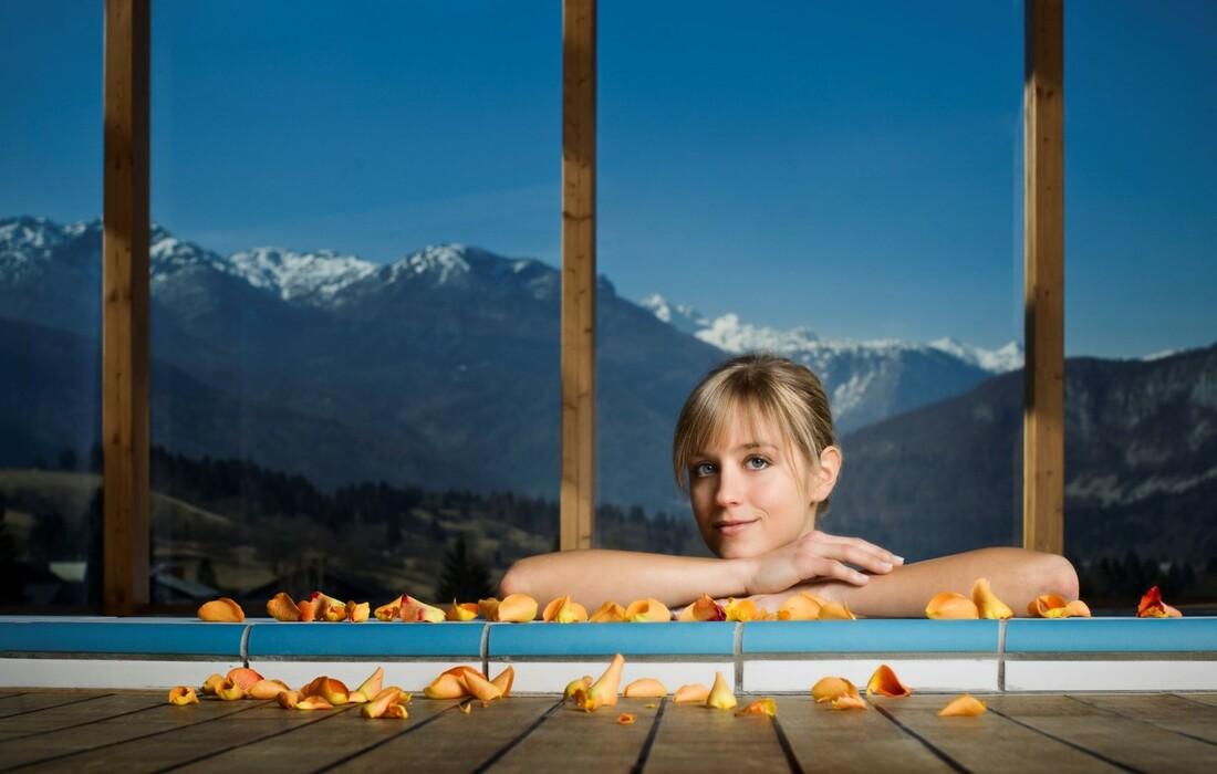 Skijanje i wellness u Sloveniji, Bohinj Park ECO Hotel exclussive wellness, jacuzzi