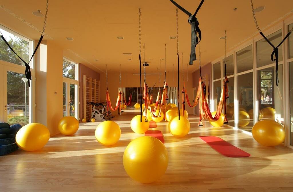 Dvorana na vježbanje u wellness centru hotela Vitality Punta.