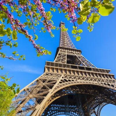 Eiffelov toranj, putovanje Proljeće u Parizu