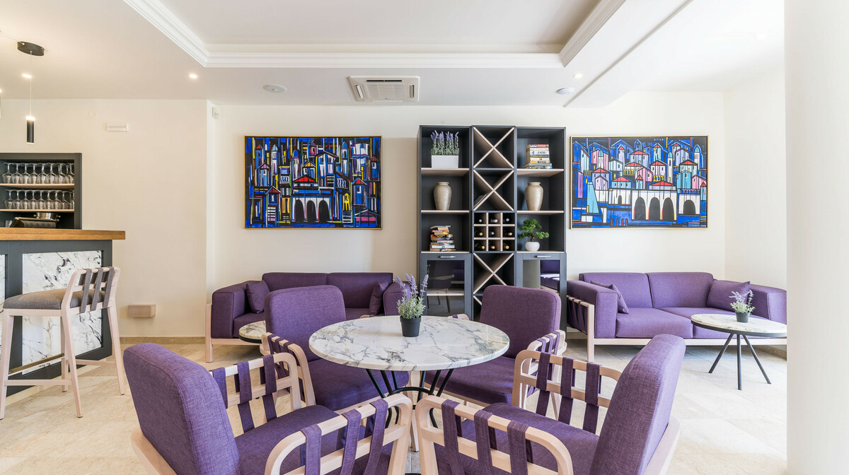 Dubrovnik, Hotel Art, lobby bar