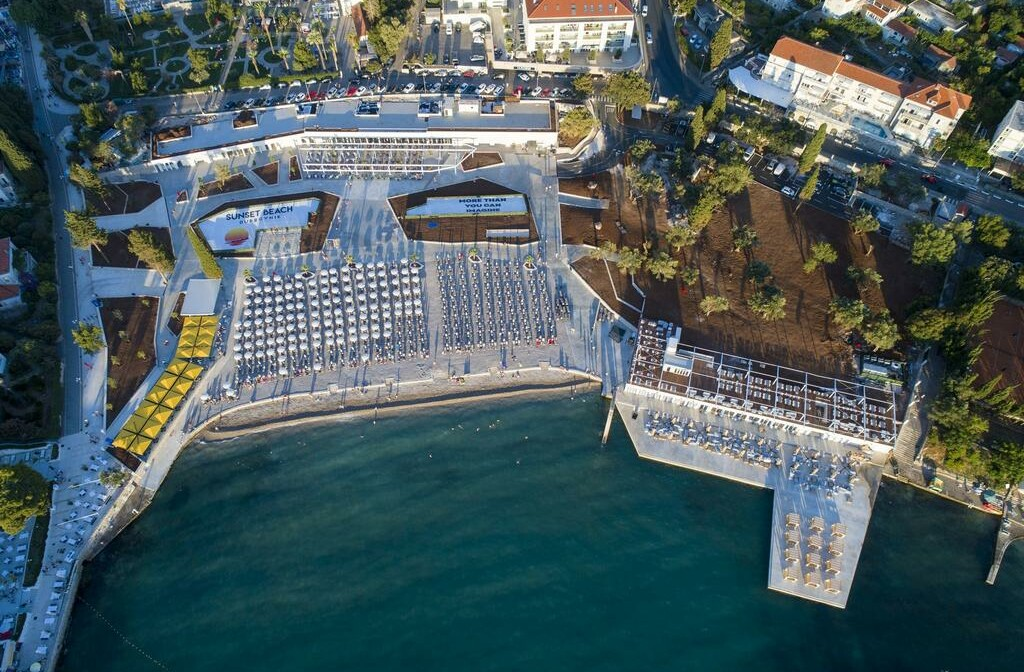 Dubrovnik, Grand Hotel Park, plaža